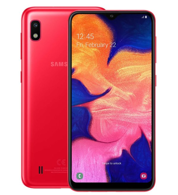 Samsung Galaxy A10 2GB/32GB Red (Красный)