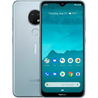 Nokia 6.2 3GB/32GB Ice (Серебряный)