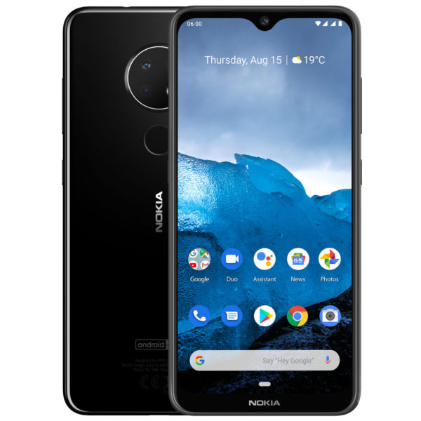 Nokia 6.2 3GB/32GB Black (Черный)