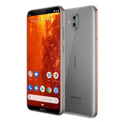 Nokia 8.1 4GB/64GB Iron steel (Металлический)