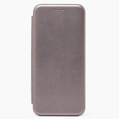 Чехол-книжка для Samsung Galaxy A51 Серый (эко-кожа)