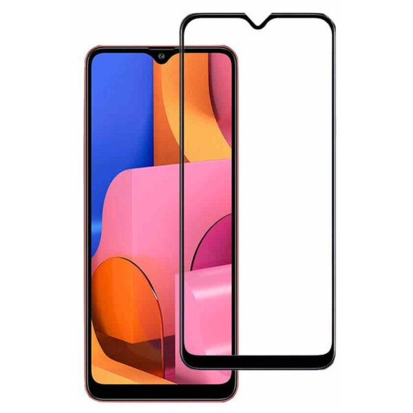 Защитное стекло 10D для Samsung Galaxy A20S c рамкой