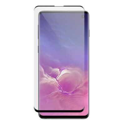 Защитное стекло 10D для Samsung Galaxy S10 c рамкой