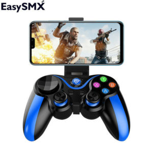 Геймпад EasySMX VA-013 Gamepad Bluetooth Синий (Blue)