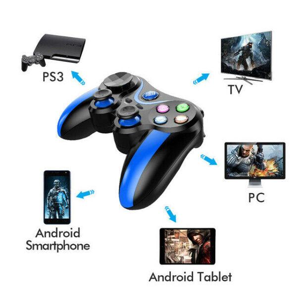 Геймпад EasySMX VA-013 Gamepad Bluetooth Синий (Blue)
