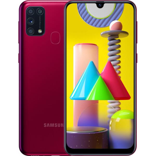 Samsung Galaxy M31 6GB/128GB Red (Красный)