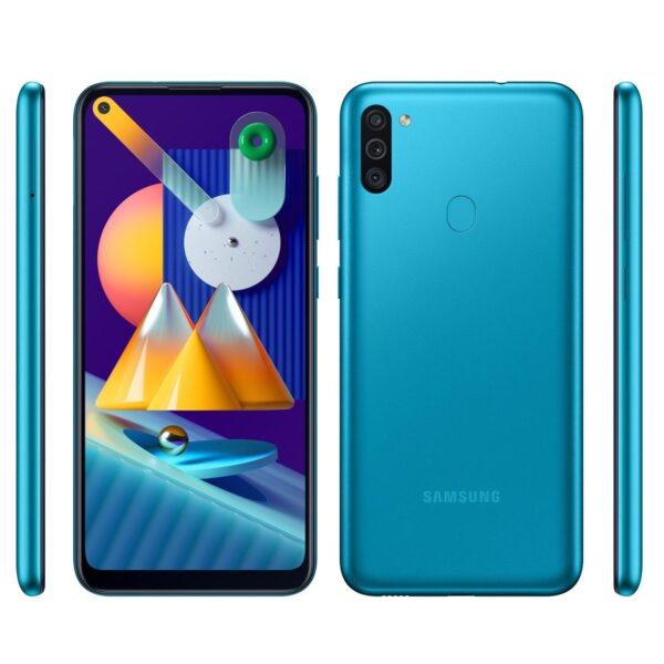 Samsung Galaxy M11 3GB/32GB Turquoise (Бирюзовый)