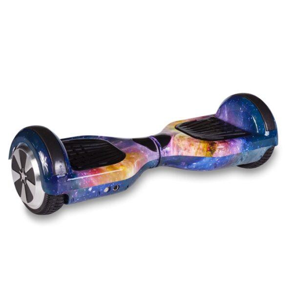 Гироскутер Smart Wheel Wo Long 6.5 Самобаланс + Музыка (галактика)