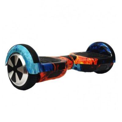 Гироскутер Smart Wheel Wo Long 6.5 Самобаланс + Музыка (огонь и лед)