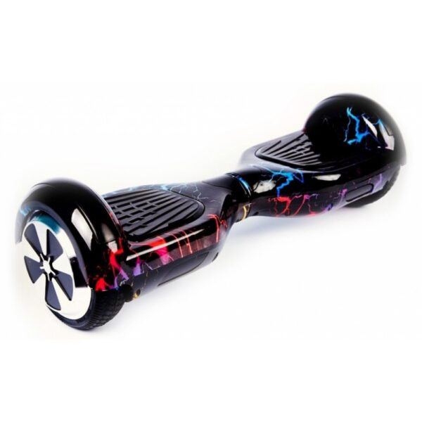 Гироскутер Smart Wheel Wo Long 6.5 Самобаланс + Музыка (цветная молния)