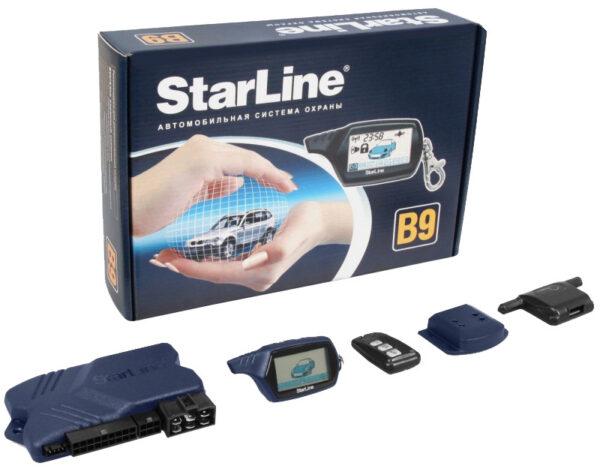 Автосигнализация StarLine Twage B9 с автозапуском