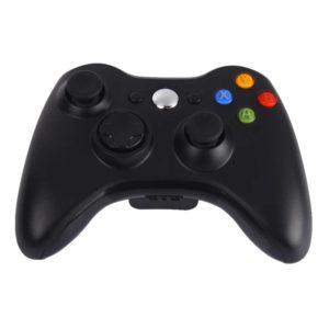 Геймпад для консоли Microsoft XBOX 360 беспроводной Black (черный)