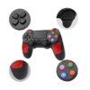 Беспроводной геймпад Controller Wireless Doubleshock4 для консоли PlayStation 4/PC черно-красный