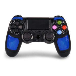 Беспроводной геймпад Controller Wireless Doubleshock4 для консоли PlayStation 4/PC черно-синий