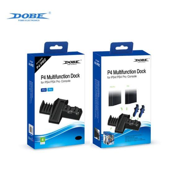 Многофункциональная подставка докстанция Dobe для PlayStation4/Pro и Dualshock4 (TP4-837)