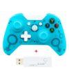 Геймпад Controller Wireless N-1 2.4G для консоли Microsoft XBOX ONE/PS3/PC беспроводной Blue (голубой)