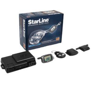 Автосигнализация StarLine Twage A9 с автозапуском