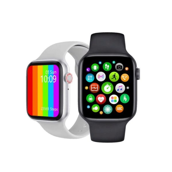 Смарт часы Smart Watch IWO W46 44mm Black (черный)