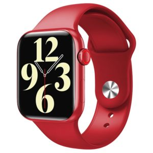 Смарт часы Smart Watch IWO M16 Plus Series 6 44mm красный