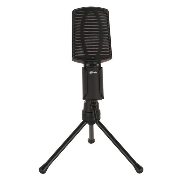 Микрофон для компьютера Ritmix RDM-125 Black