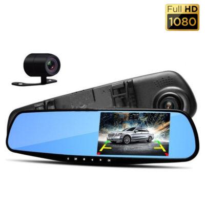 Автомобильный Видеорегистратор-зеркало Eplutus DVR D02 Full HD