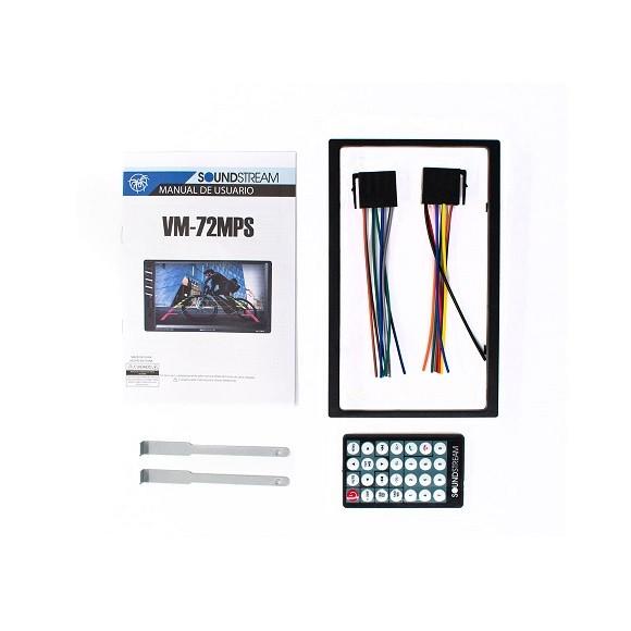 автомагнитола 2 Din Soundstream VM-72MPS