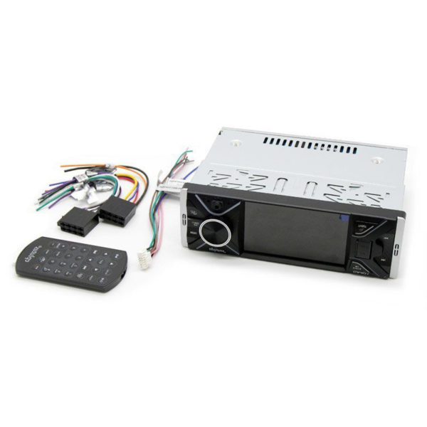 "Автомагнитола Eplutus CA401, 1 Din, Bluetooth, 4"" сенсорный LCD 800х480"