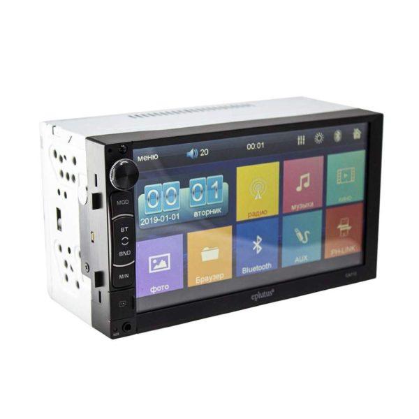 Купить автомагнитолу Eplutus CA712, 2 Din, Bluetooth, 7 дюймов, Av-Out с доставкой по всей России