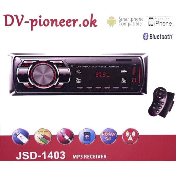 Автомагнитола Pioneer OK JSD-1403 Bluetooth + Джойстик