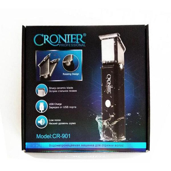 Водонепроницаемая машинка для стрижки Cronier Professional CR-901