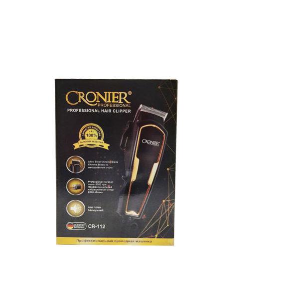 Профессиональная машинка для стрижки волос Cronier Professional CR-112