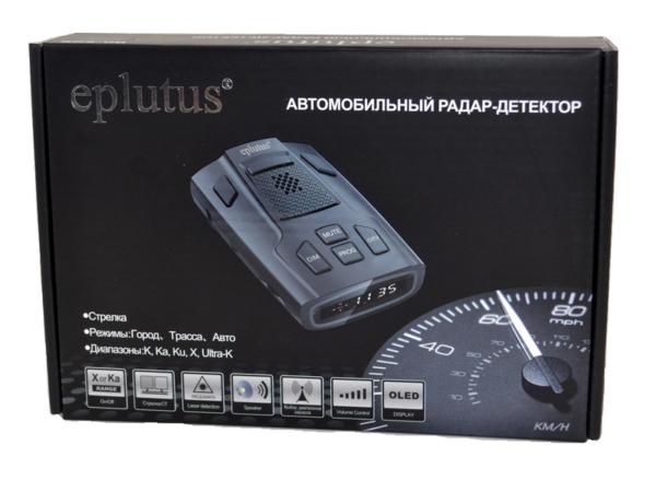 Радар-детектор Eplutus RD-526 с обнаружением стрелки