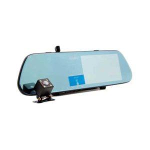 Автомобильный видеорегистратор-зеркало с 2-я камерами Eplutus D08