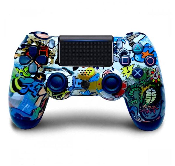 Геймпад для консоли PS4 PlayStation DualShock 4 v2 Graffiti (Граффити)