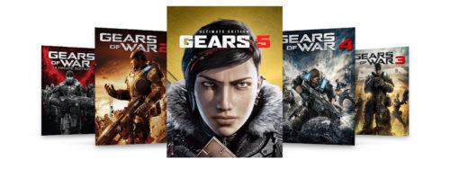 В дополнение к Gears 5 вы можете скачать Ultimate-издание игры Gears of War, а также Gears 2, 3 и 4.